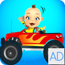 Baby Monster Truck Game - Cars