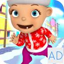 Baby Snow Run - Running Game