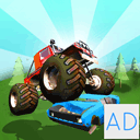 Baby Monster Truck Hot Racing