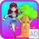Princess Run 4D - Girl Games