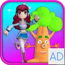 Princess Run 4D - Girl Games