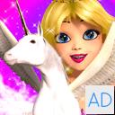Princess Unicorn Sky World Run