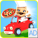 Racing Pizza Delivery Baby Boy
