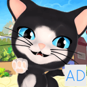 Talking Cat and Dog Kids Games